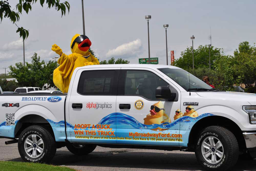 Broadway Ford Idaho Falls >> Sponsor A Rubber Duck At 25th Annual Duck Race East Idaho News