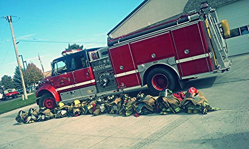 Ammon Firemen Honor Fallen Comrade With Procession East Idaho News