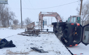 Medical condition causes death, rollover accident at Thornton