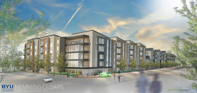 REXBURG U2014 A Major Housing And Business Development Center Will Soon Be  Under Construction In Rexburg.