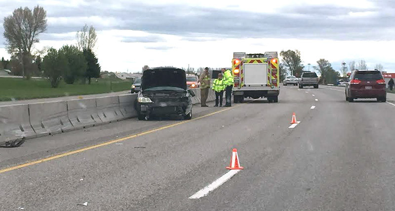 Minor injuries in semi vs car accident on Highway 20 | East