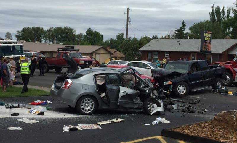 Car Accident Idaho Falls  Year Old