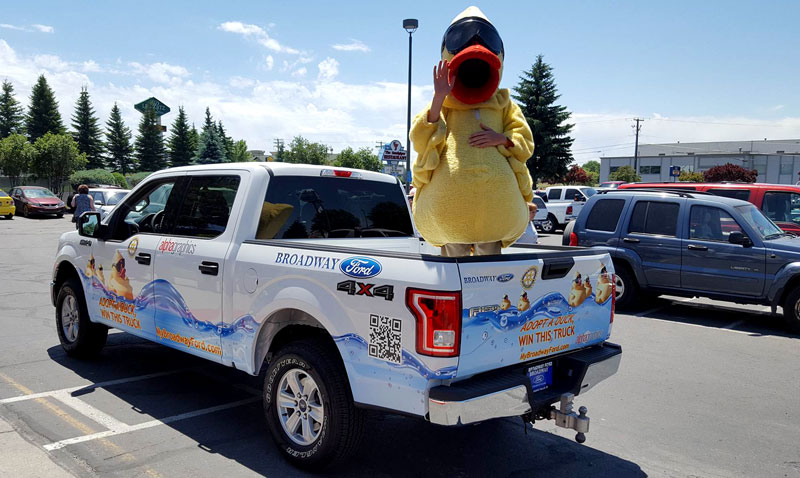 Broadway Ford Idaho Falls >> Idaho Falls Rotary Receives Grand Prize Donation For Duck Race