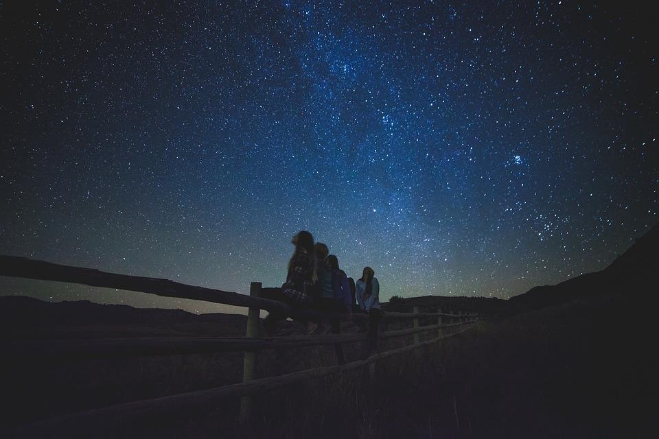 Чем больше звезд, тем больше будет радости.