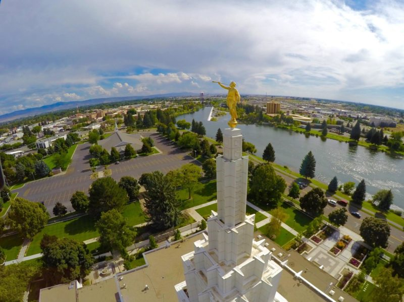 Get Idaho Falls Temple open house reservations starting today