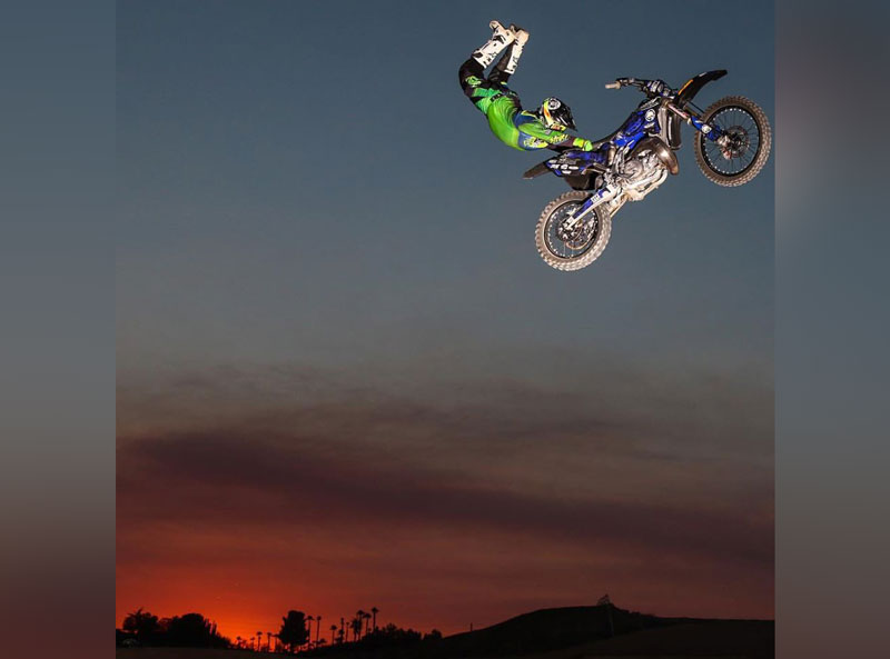 watch some gnarly motocross stunts at the eastern idaho state fair