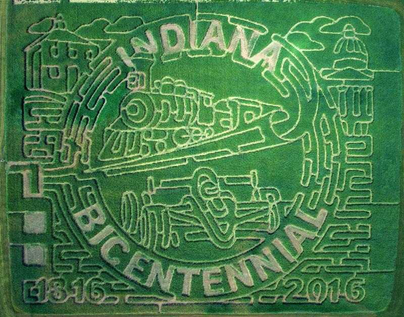 indianacentennialmaze