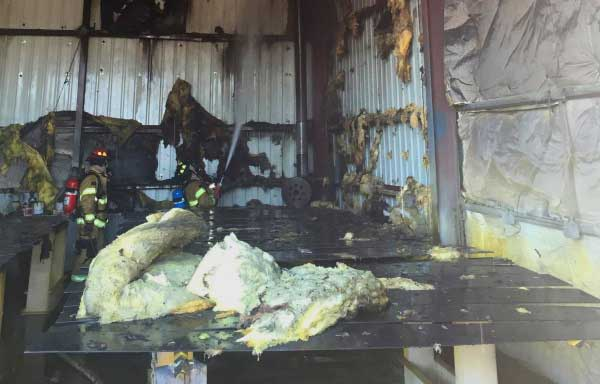 Idaho Falls Paint Shop Significantly Damaged In Fire