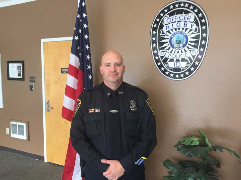 rigby u0026 39 s newest police chief talks about the future of the