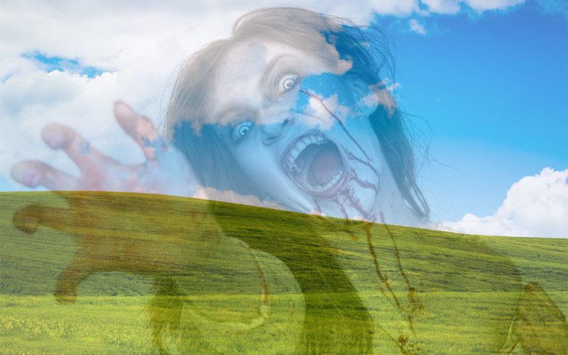 zombie woman opaque