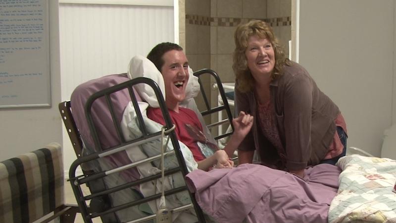 wheelchair surprise
