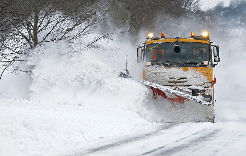 snow plow shutterstock
