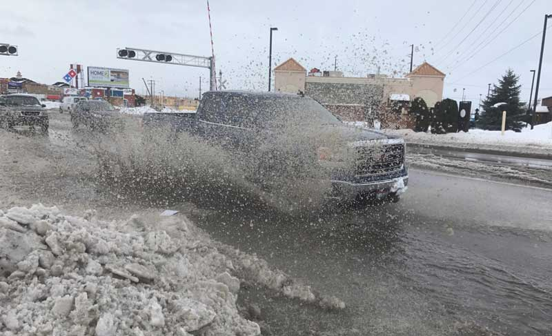 Saturday Morning Snow In Madison >> Flood watch issued for eastern Idaho   East Idaho News
