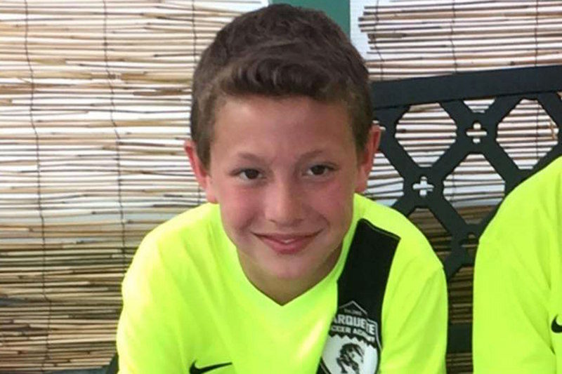 Image result for 11-year-old kills himself after texting prank