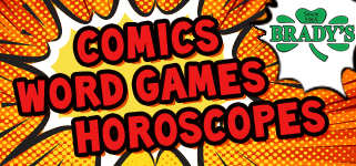 Comics, puzzles and horoscopes brought to you by EastIdahoNews.com and Brady's