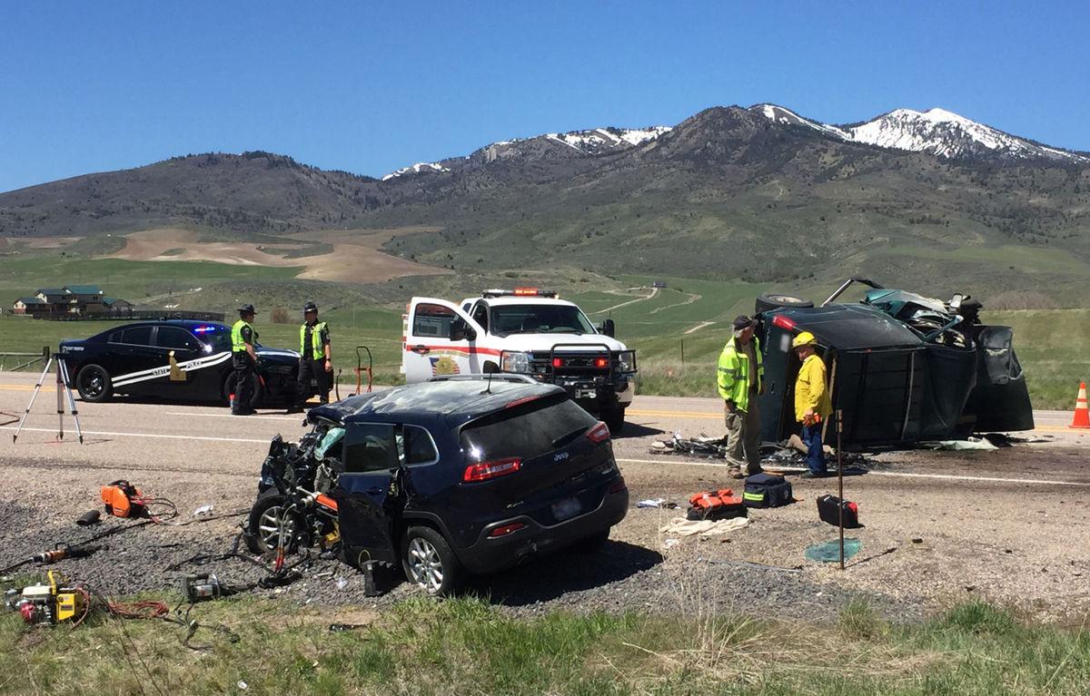 update  two dead in crash near lava hot springs