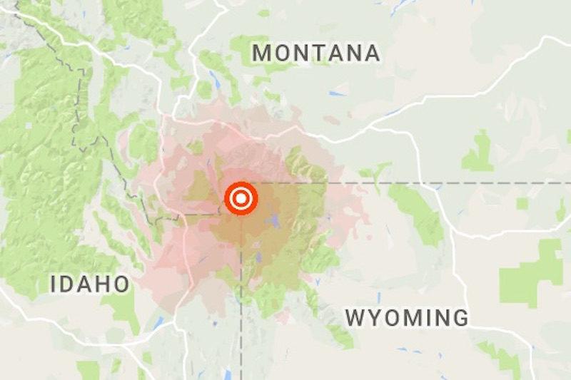 4 5 Magnitude Earthquake Shakes West Yellowstone East Idaho News