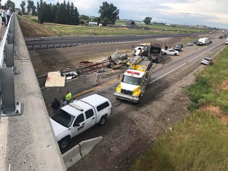 UPDATE: Idaho Falls woman, horse killed in I-15 crash