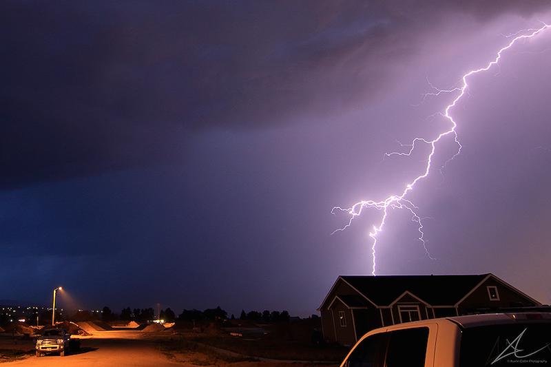 GALLERY Thunder Lightning Storm Moves Through East Idaho