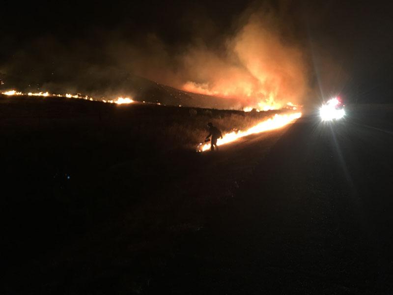 Powerline Fire2