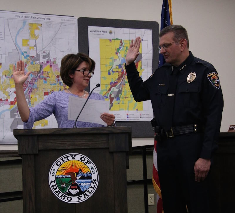 The following is a news release and photos from the city of Idaho Falls.