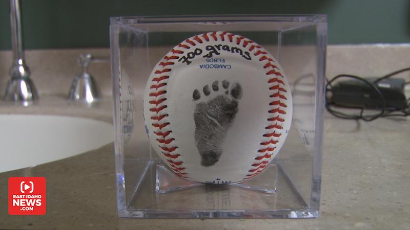 baseball foot