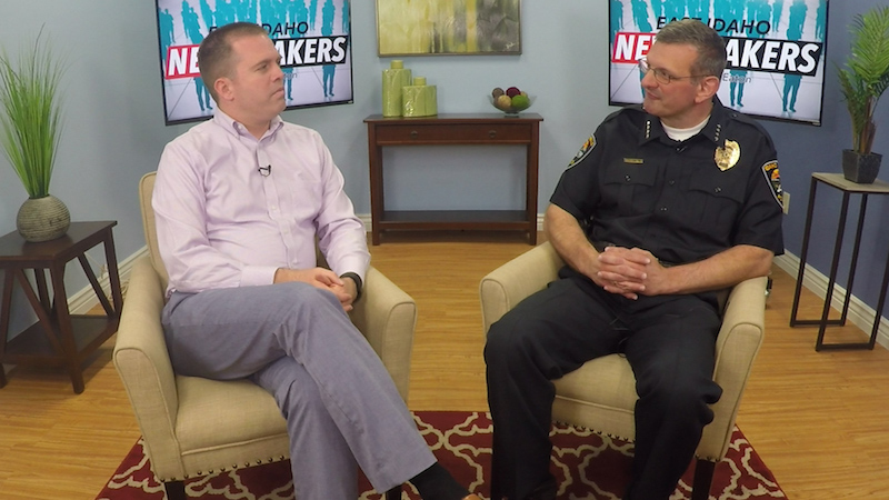 In this edition of East Idaho Newsmakers, Nate Eaton sits down with Bryce  Johnson, the new Chief of Police for the city of Idaho Falls.