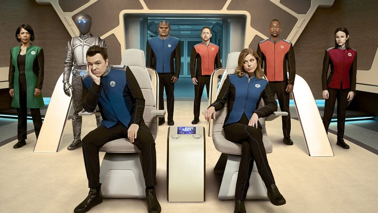 "REVIEW: Why do critics hate ""The Orville""? beats me..."