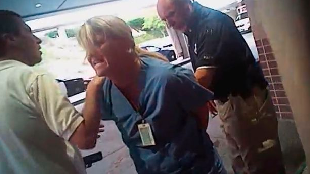 SLCPD officer fired from part-time job after he cuffed, arrested nurse