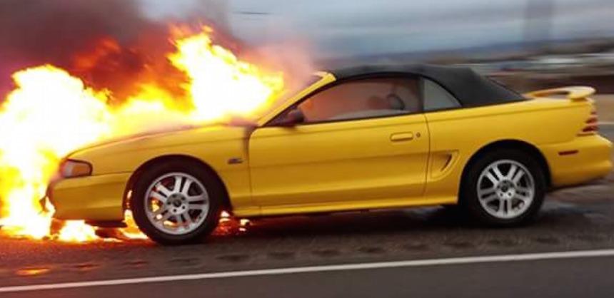 car fire jp