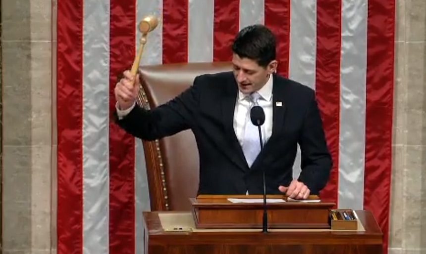 House Sends Sweeping Gop Tax Bill To Trump S Desk East