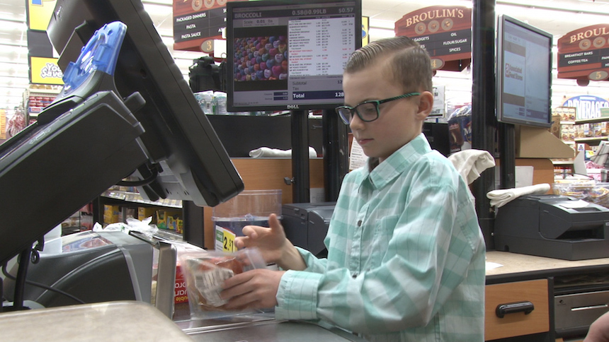 Why This Young Boy Whose Brother Nearly Died In An Explosion Is Buying Groceries For Strangers