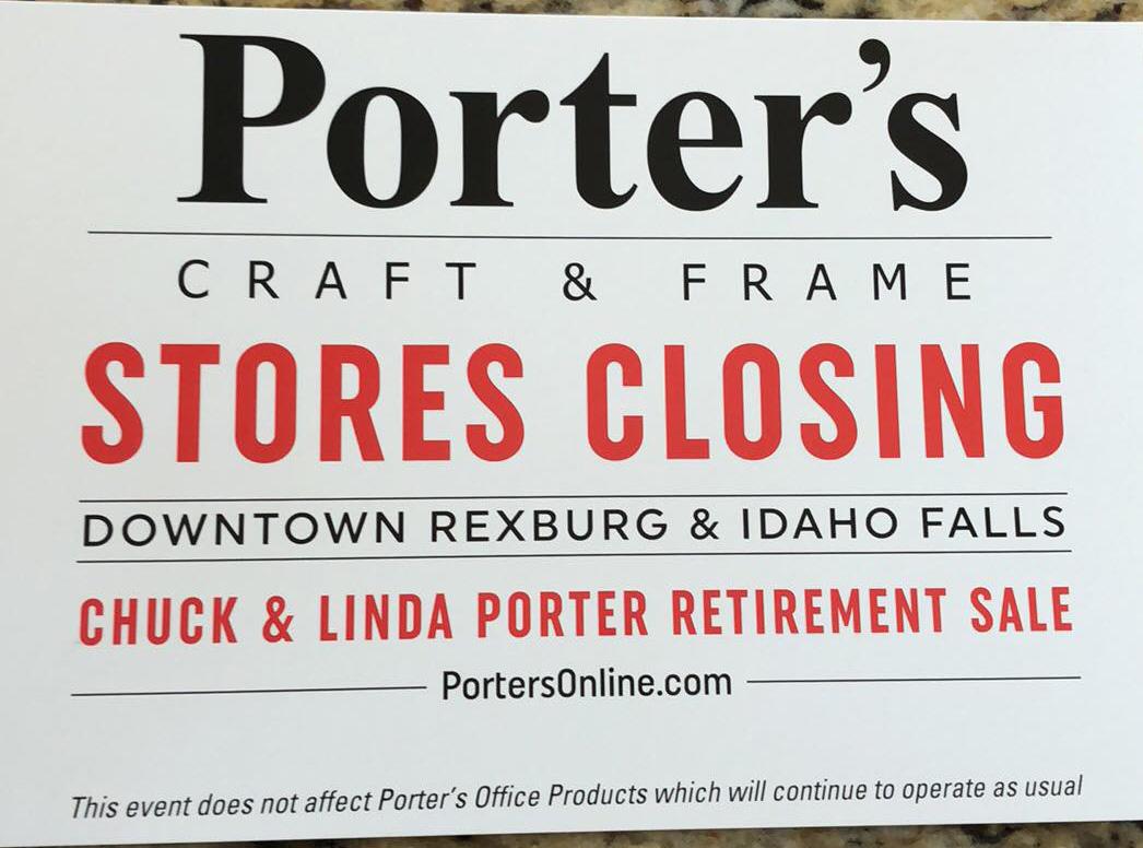 Porter S Craft And Frame