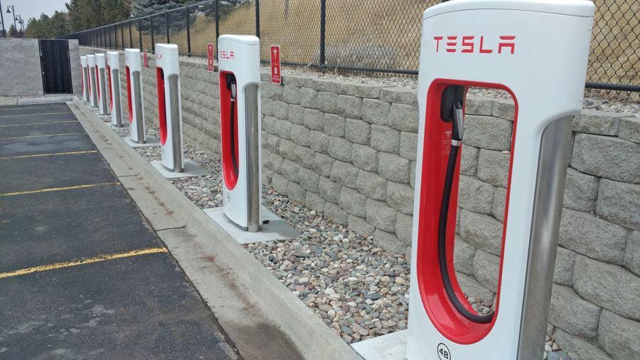 Companies Create Electric Charging Station Route For Car Owners
