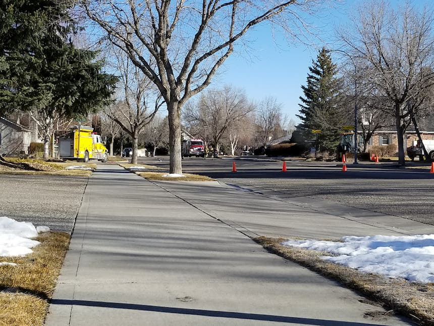 Homes evacuated in idaho falls due to gas leak east for Home builders in idaho falls