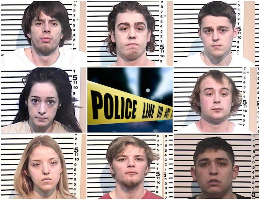 8 people arrested in three home drug bust | East Idaho News