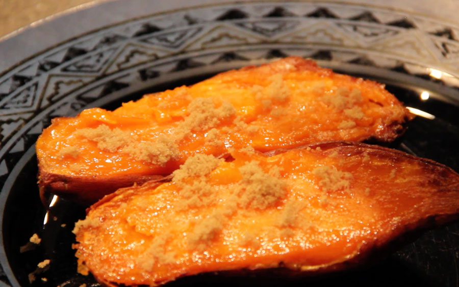 A quick and easy baked sweet potato   East Idaho News