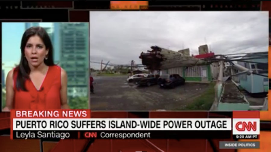 Puerto Rico suffers island-wide power outage