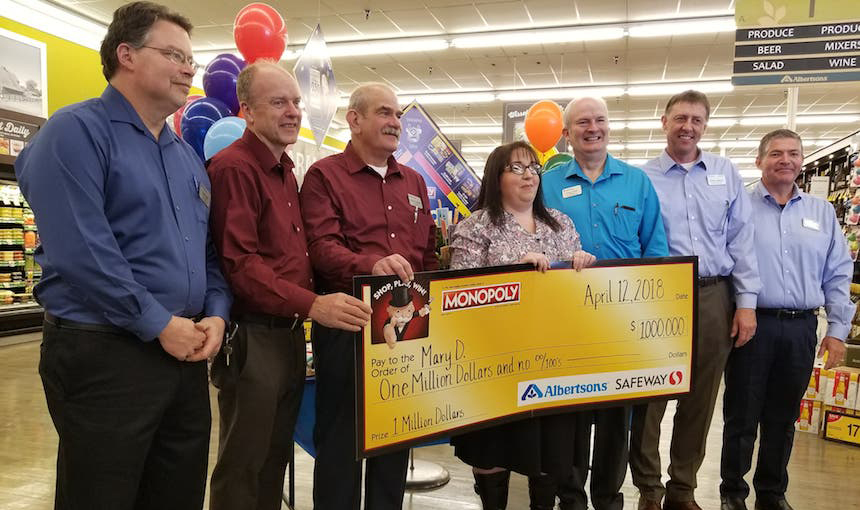 Monopoly winners albertsons