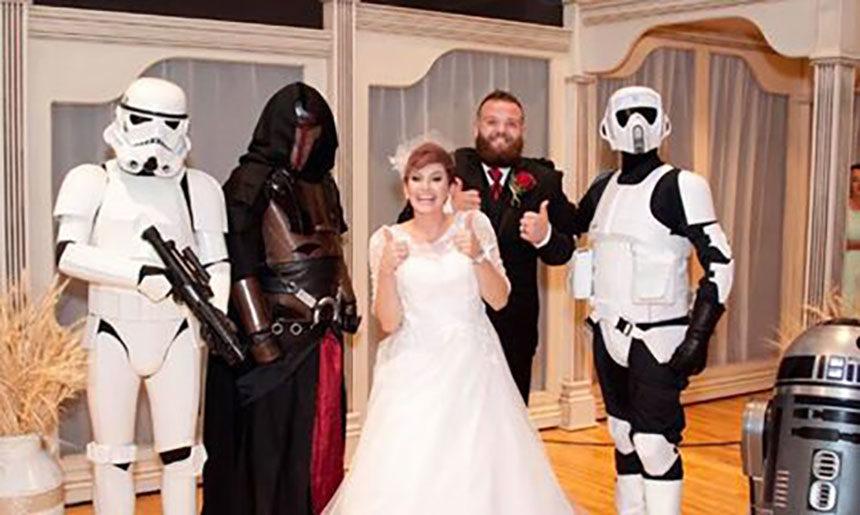 Star Wars Wedding.Locals Remember Star Wars Wedding Surprise On May 4th