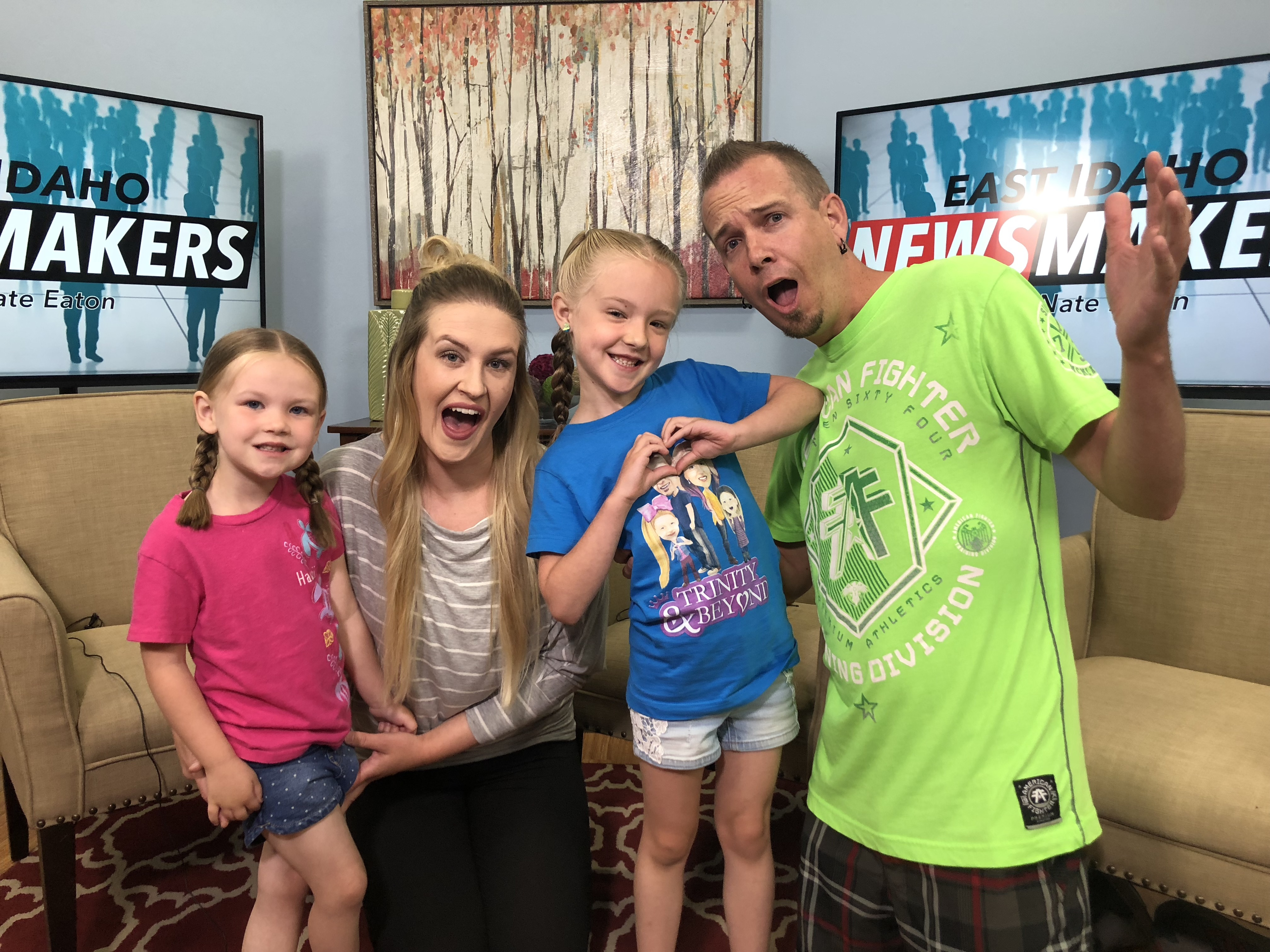 Newsmakers: Local family strikes YouTube gold with 'Trinity