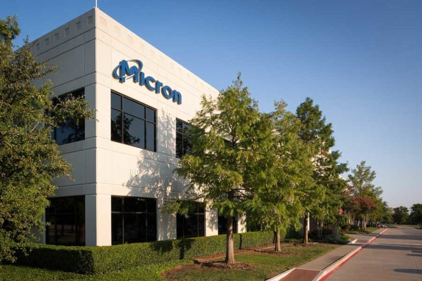 Micron shares plummet after China bans chip sales