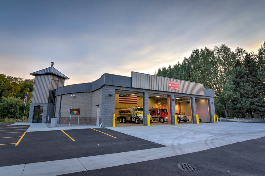 Central Fire District Opens New 11 300 Square Foot Station