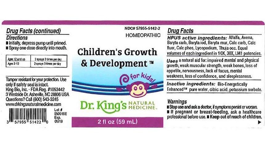 FDA: Do not use hundreds of drug products from King Bio Inc
