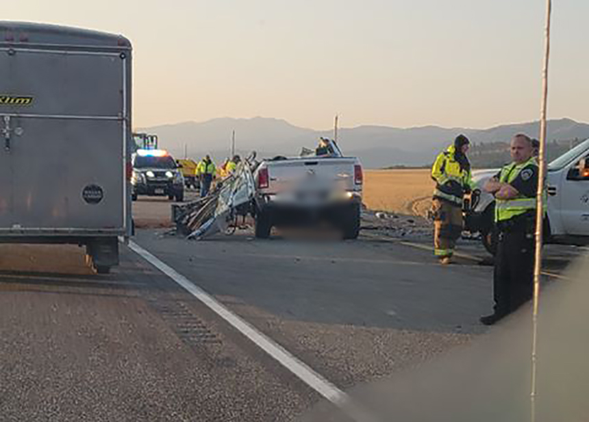 UPDATE: Local man dead after horrific crash on U S  26