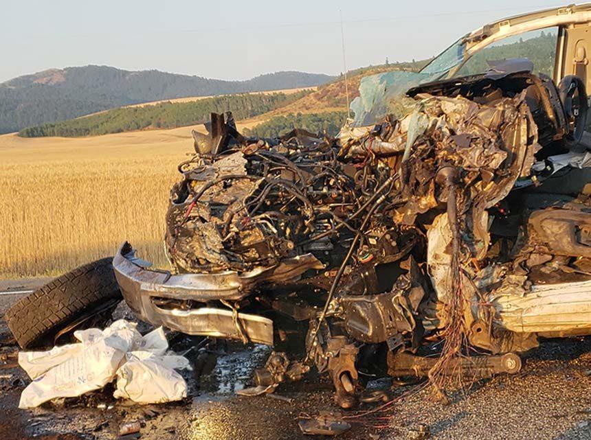 UPDATE: Local man dead after horrific crash on U S  26 | East Idaho News