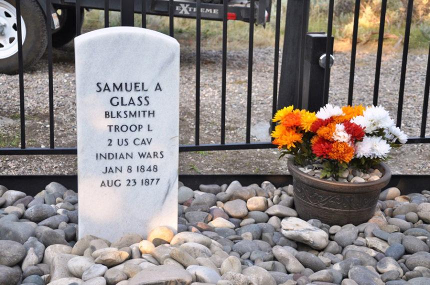 new gravesite