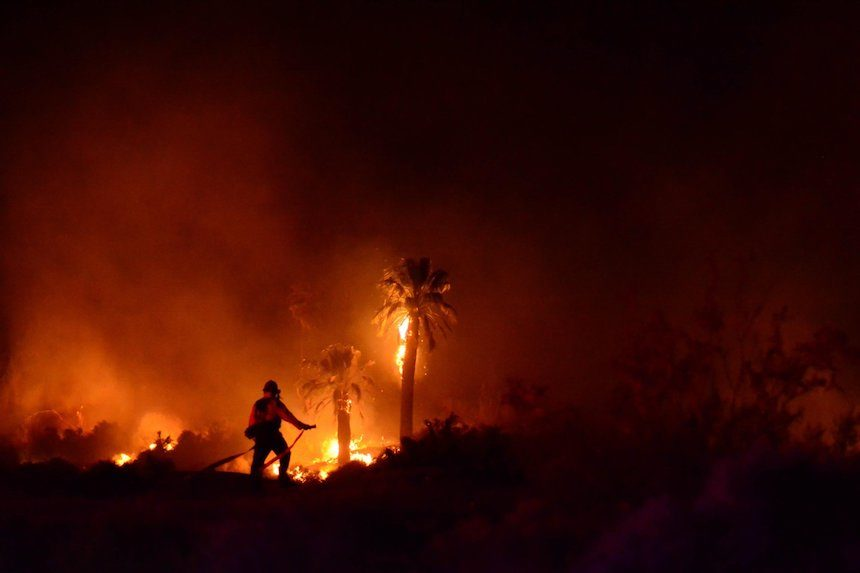 Man sentenced to five years for setting fire at Joshua Tree National