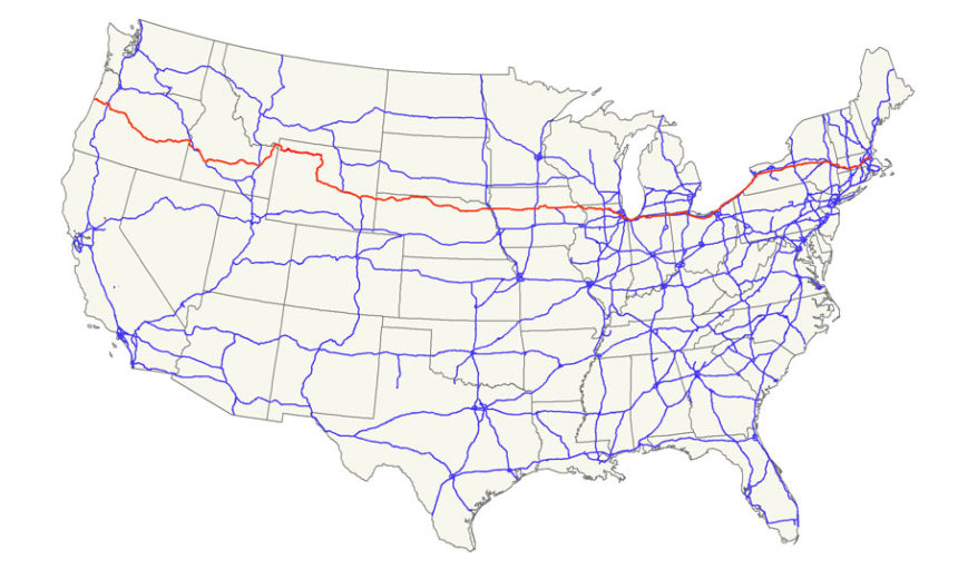 North, south, east, west -- which direction does U.S. Highway 20 ...