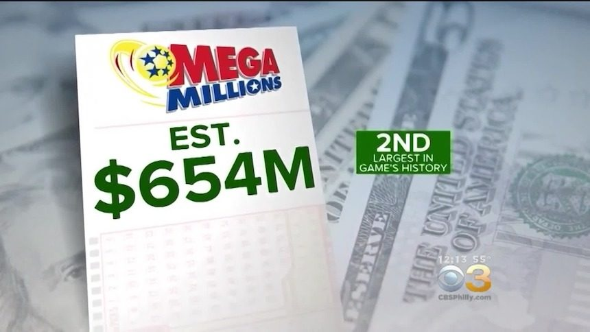 Mega Millions jackpot now $667M, 3rd largest in USA history